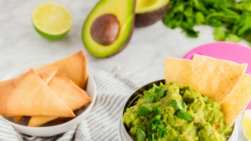 Zelf guacamole maken (simpel)